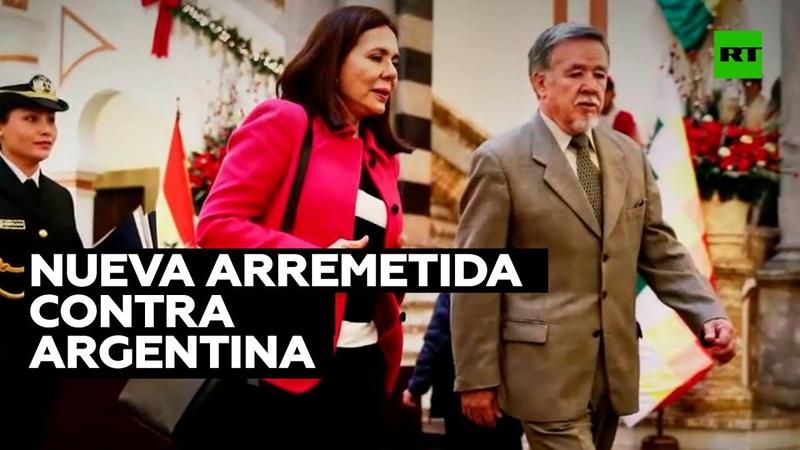 La canciller de Bolivia apunta a una supuesta injerencia de Argentina en los comicios bolivianos