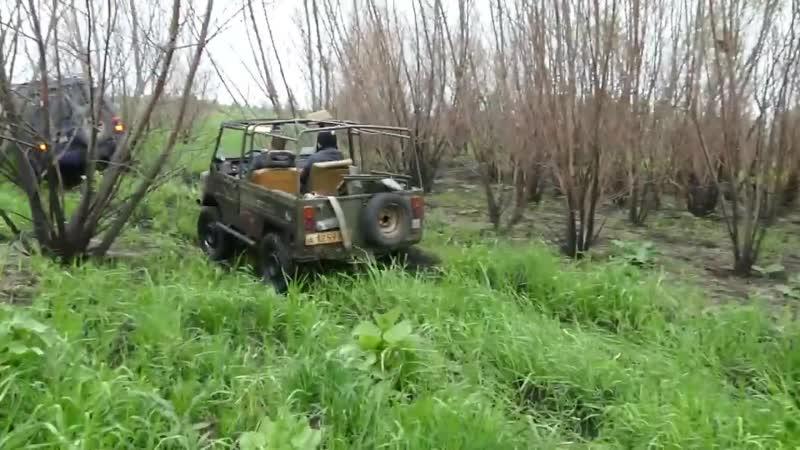 НАШИ едут НЕМЦЫ и ЯПОНЦЫ нет БОЛОТО то наше Unimog Pajero ЛуАЗ ГАЗ 69