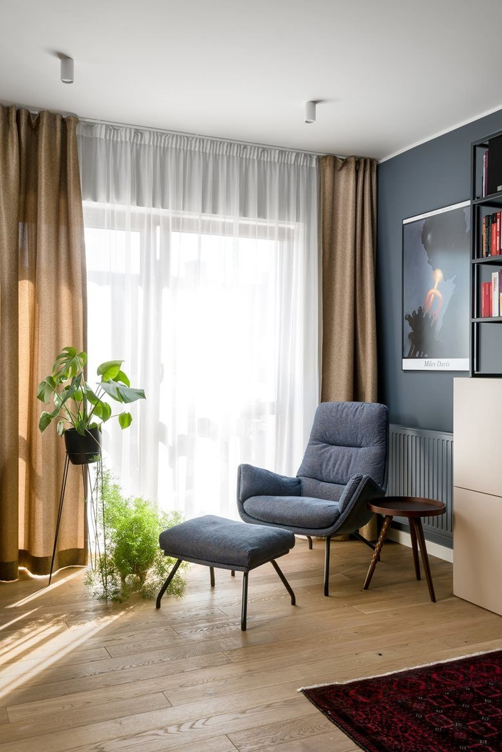 Темные уютный апартаменты в Польше
