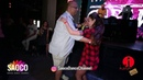 Mario Hazarika and Anastasia Morozova Salsa Dancing in Rest Bar SARAY The Third Front 06 08 2018