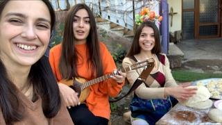 Trio Mandili - Shromis simghera (Work song)