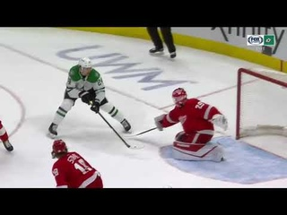 Denis Gurianov assists on Roope Hintz goal vs Red Wings (2021)