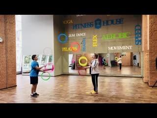 Покидали кольца в зале Fitness House | Артём Лозинский/Андрей Браилица