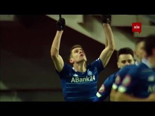 УПЛ | Чемпионат Украины по футболу 2021 | Заря - Динамо - 0:1. Видео гола Беседина (55`)