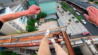 Moscow Rooftop Parkour POV 🇷🇺