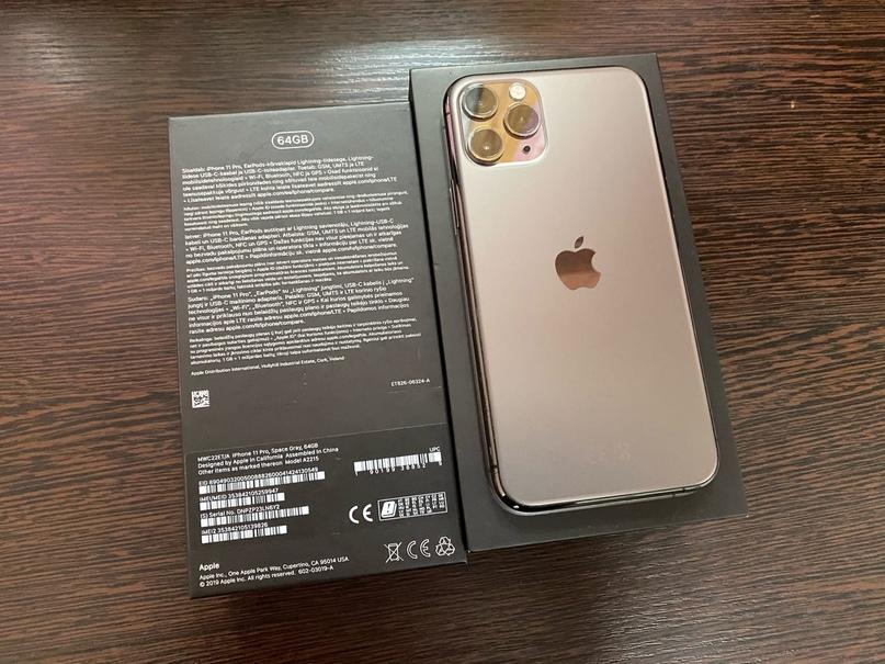 Продам iPhone 11 PRO на 64gb. Внешнее состояние - околоидеал...