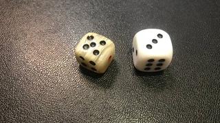Два кубика