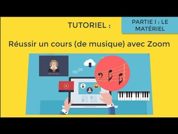 Réussir un cours de musique en visio avec Zoom partie1