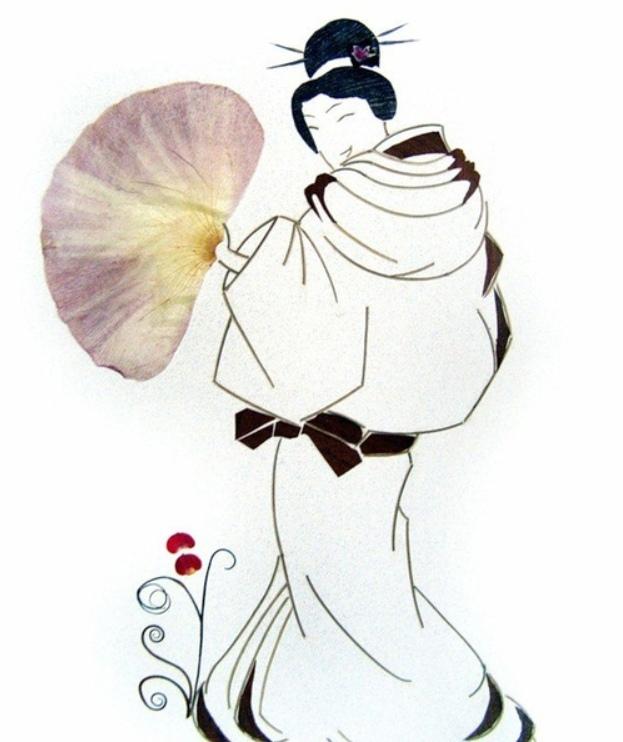 аппликация, листья, материалы природные, рисунки, поделки из природных материалов, своими руками, поделки своими руками, картины из природных материалов, картины из осенних листьев, мастер-класс, идеи, ошибана, картины из растений, искусство японское, картины из сухих растений, материал растительный, из сухих цветов, из сухих листьев, Оштбана - японское искусство из сухих листьев, Оштбана - японское искусство из сухих листьев,