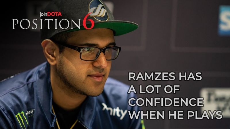 RAMZES HAS A LOT OF CONFIDENCE WHEN HE PLAYS | Position 6 Highlights with Bulba | Dota 2