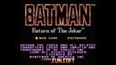 Dendy Famicom,Nintendo,Nes 8-bit Batman Return of the Joker Batman 2 part Battle with Bosses