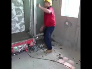 Автоматическая штукатурная машина для отделки стен