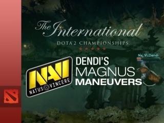 Dendi's Magnus Maneuvers | TI3 Memorable Plays