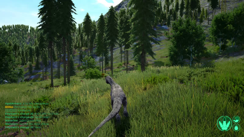 Аллозавр The Isle Выживательный стрим