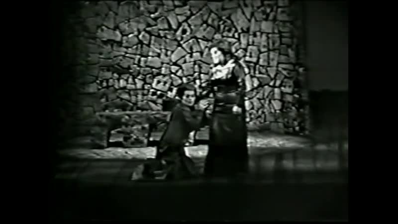 Вагнер Р.Тристан и Изольда.Б.Нильсон.Осака.1967 г