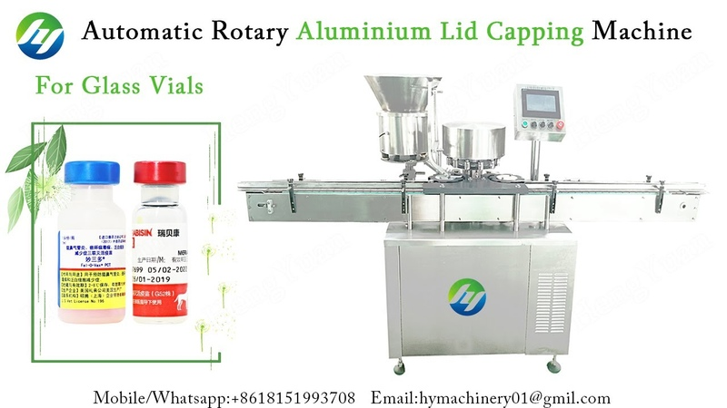 Automatic Rotary Flip off Aluminium Lid Crimping Capping Machine for Gass Vals Sealing Equipment