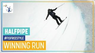 Rachael Karker   1st place   Women's Halfpipe   Aspen   FIS Freestyle Skiing