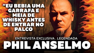 Phil Anselmo (Legendado) Por Dentro com Paulo Baron e Regis Tadeu