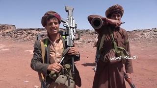 Йемен. +18. Налет хуситов на пост саудитов в провинции Наджран. Кто-то успел убежать, а кто-то - нет