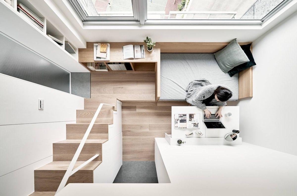 Компактная квартира площадью 17 кв.