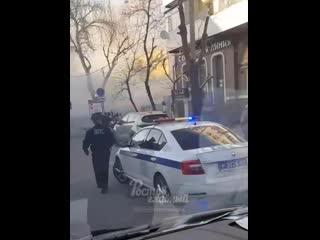 Пожар на Соколова 36  Ростов-на-Дону Главный