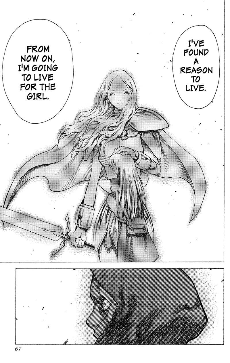 Claymore, Chapter 17, image #25
