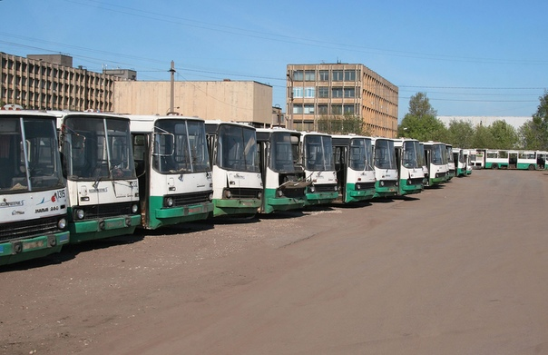 «Последний парад» Апрель 2011 г. Автобусный парк № 1, площадка № 2 (филиал. он же – «БАМ»)