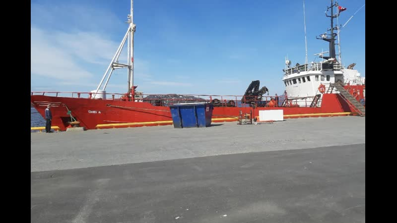 Радиопереговоры моряков спасавших экипаж затонувшей Онеги