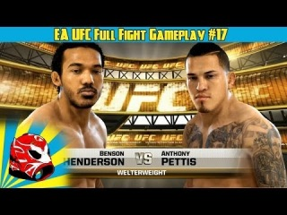 Benson Henderson vs. Anthony Pettis Full Fight | EA Sports UFC 2014 Gameplay (Xbox One)