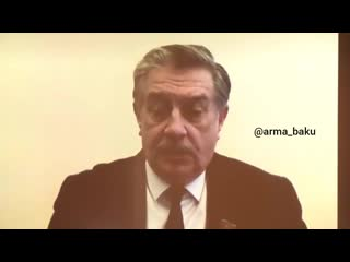 Отрывок из выступления депутата Милли Меджлиса Азербайджана Михаила Забелина в ходе телемоста Москва-Баку.