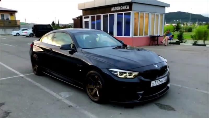 BMW M4 F82 Street Drifting [HD]