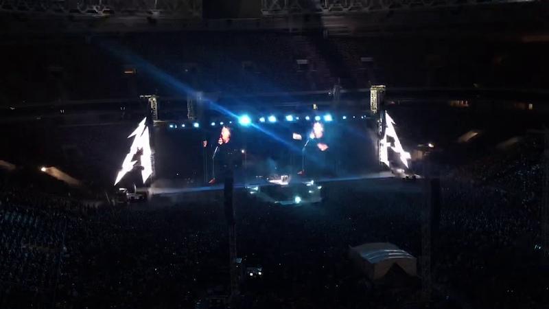 Metallica at Moscow 21 Jul 2019 Кино Группа крови Rob Kirk's Doodles