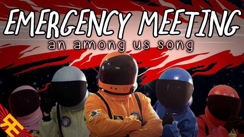 EMERGENCY MEETING An Among Us Song [by Random Encounters] (feat. Katie Herbert Kevin Clark)