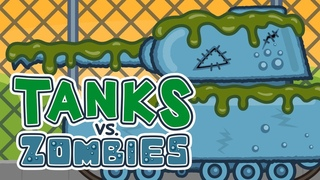 Танки против Зомби #10: Бой с Монстром | Мультик про танки