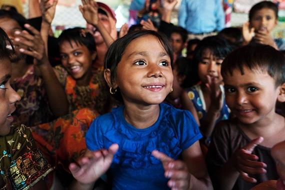 Бангладеш, дети. Фото с сайта brac.net