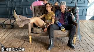 Devil May Cry 5 - Nero and Nico - Cosplay backstage