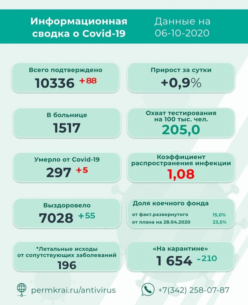 коронавирус, чайковский район, 2020 год