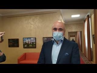 Игорь Артамонов решил сделать прививку от коронавируса