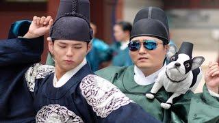 박보검 '붐바스틱' 댄스 화제 (Park Bo Gum, Moonlight Drawn By Clouds, 구르미 그린 달빛) [통통영상]