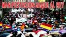 Manifestación Jaque al Rey Juan Carlos I Concentración Jaque al Rey 28 de septiembre de 2013