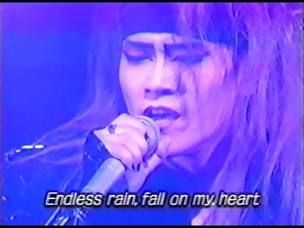 X japan kurenai endless rain 1993