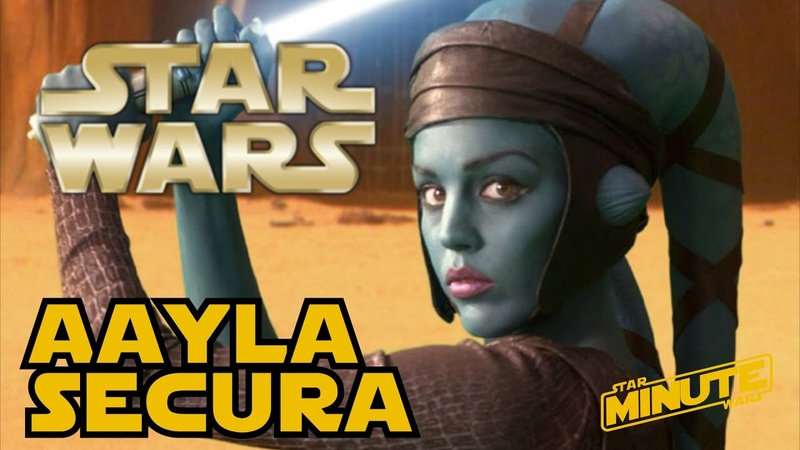 Aayla Secura (Canon) - Star Wars Minute