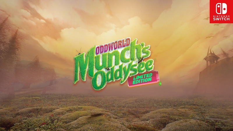 NS Oddworld: Munch s Oddysee Limited Edition NS PS3 XB PSV NGBA Oddworld: Munch s Oddysee HD