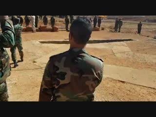 Syrian arab armys 68th brigade training