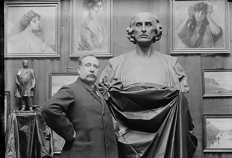 Скульптор Этторе Ксименес.