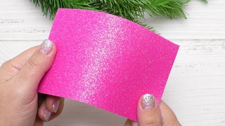 How to make Christmas Decorations from foamiran Easy and Fast