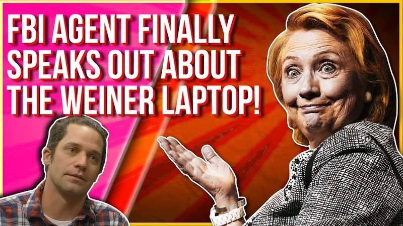 FINALLY AN FBI AGENT SPEAKS OUT ABOUT THE WEINER LAPTOP AND THE HILLARY EMAILS