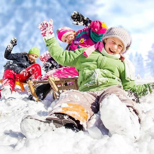 Школьники на зимних каникулах картинки