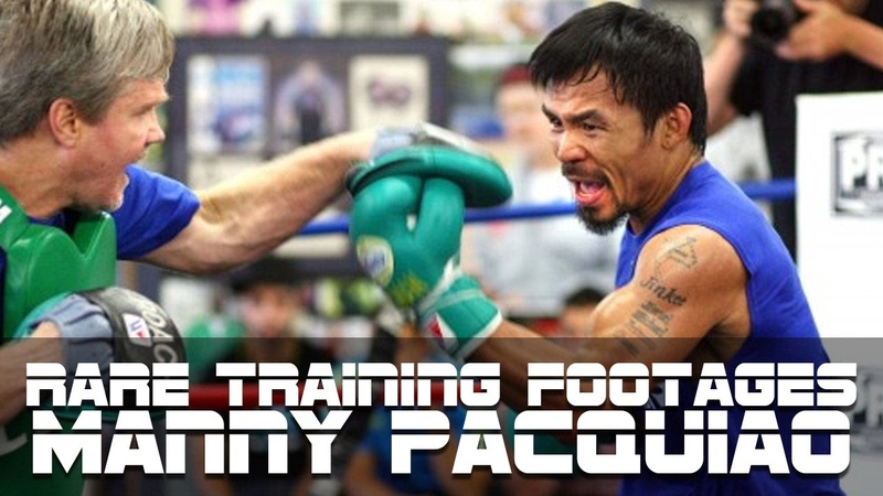 Rare Pacquiao boxing training footage Part II (MUST SEE)