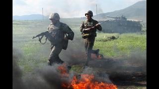 СРОЧНО!! Армянские СМИ: Противник ведет огонь в направлении села Суренаван.